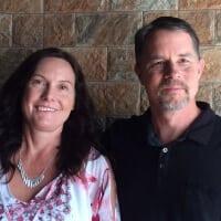 Michael Coughlin and Pam Walton